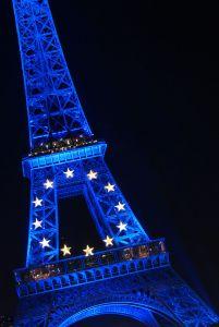Tour Eiffel aux couleurs de l'Europe [2008]