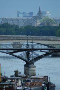 Pont des Arts, Grand Palais