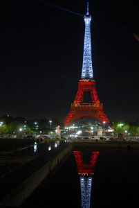 Tour Eiffel, aux couleurs de la Turquie [2009]