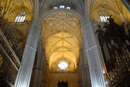 La Giralda, intérieur de la Cathédrale