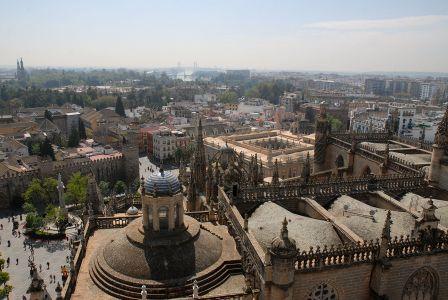 Séville, vue de la Giralda