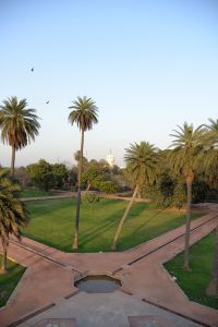 Mausolée d'Humayun, jardin