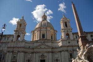 Piazza Navona, Sant'Agnese in Agone