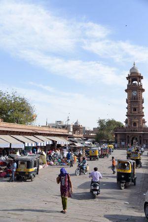 Sardar Bazar, Clock Tower
