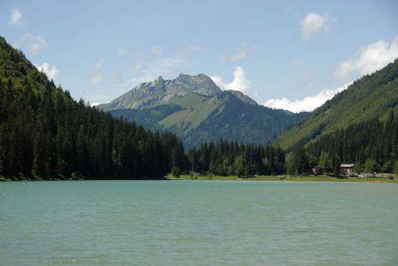 Lac de Montriond, Roc d'enfer