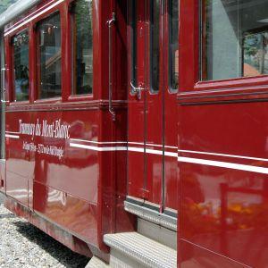 Saint Gervais, Tramway du Mont Blanc