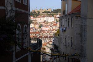 Quartier Baixa, Castelo saô jorge