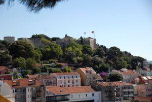 Quartier Alfama, Castelo saô jorge