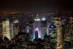 Les lueurs de Times Square