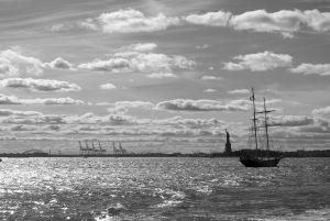 Statue de la Liberté - Hudson river