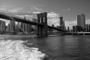 Brooklyn Bridge - Hudson river