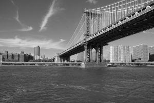 Manhattan Bridge - Hudson river