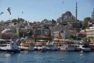 Bosphore, Mosquée de Süleymaniye