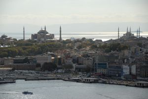 Vue de la Tour Galatasaray