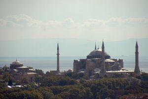 Vue de la Tour Galatasaray, Sainte Sophie