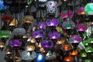 Dans les allées du bazaar