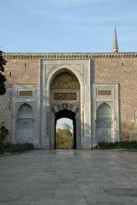 Mosquée Bleue depuis les jardins de Sainte Sophie