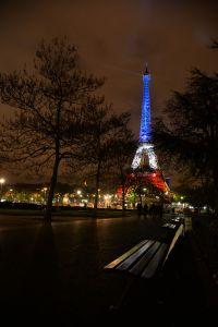 Tour Eiffel tricolore #13novembre [2015]