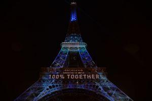 Tour Eiffel sous l'eau #1heart1tree #cop21 [2015]