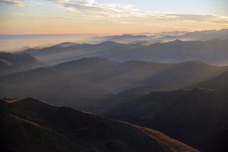 Pic du midi, chaîne des Pyrénées
