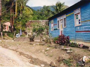 Village dans les montagnes