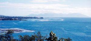 Baie de Tahiti et Moorea à l'horizon